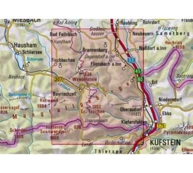 AV-Karte BY 16 - Mangfallgebirge Ost