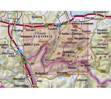 Chiemgauer Alpen West BY 17