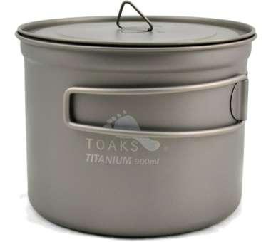 Titanium 900ml D115mm Pot