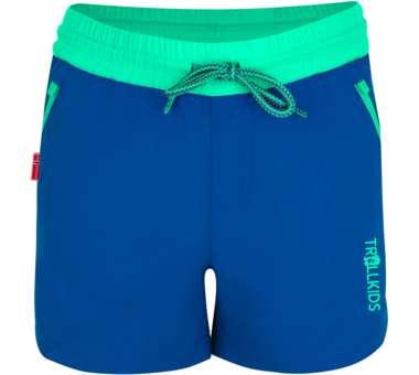Girls Arendal Shorts midnight blue/dark mint | 128