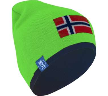 Kids Flag Beanie navy/bright green | 54