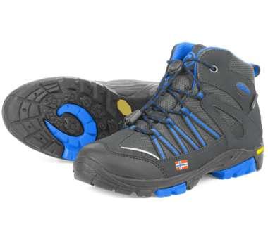 Kids Lofoten Hiker Mid anthracite/med blue   32,0