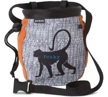 Graphic Chalk Bag with Belt russet monkey