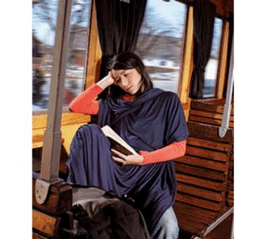 Reisedecke Travel Blanket Coolmax
