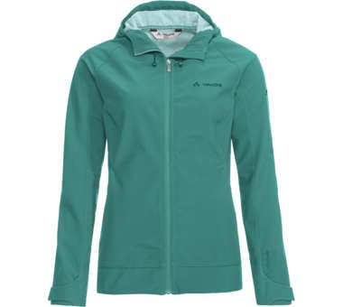 Womens Skomer S Jacket II nickel green | 38