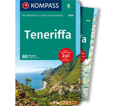 Wanderführer Teneriffa 2-in-1
