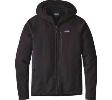 Performance Better Sweater Hoody Men black | S