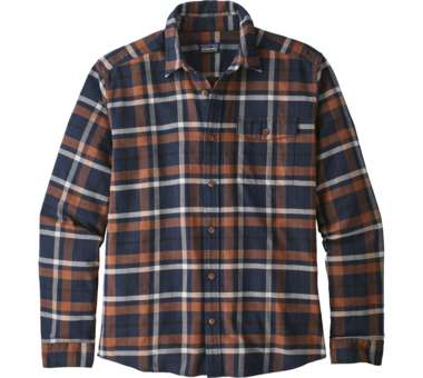 LS Lightweight Fjord Flannel Shirt tom's place: navy blue | S