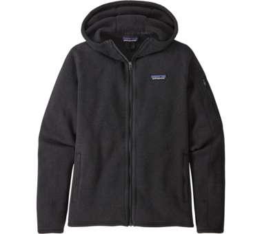 Women's Better Sweater Hoody black | S