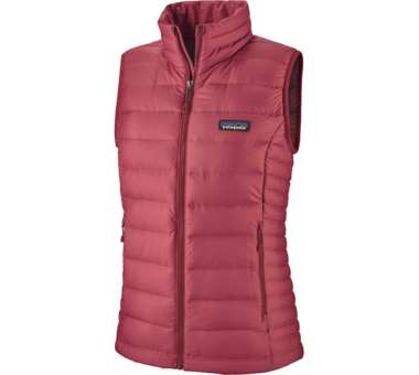 Down Sweater Vest Women roamer red | S
