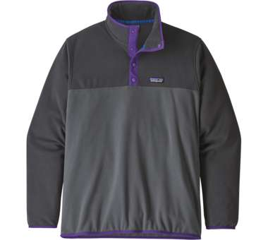 Men's Micro D Snap-T Pullover forge grey | S
