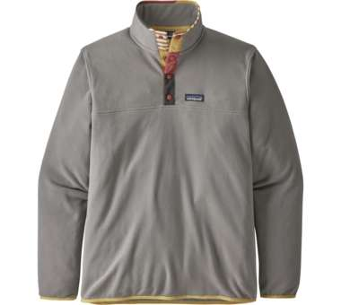 Men's Micro D Snap-T Pullover feather grey | S