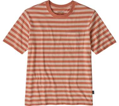 Men's Organic Cotton Midweight Pocket Tee carding:mellow melon | S