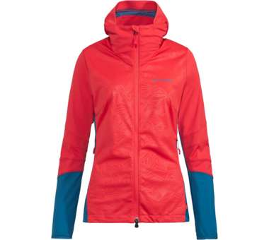 Womens Croz Softshell Jacket magma | 38