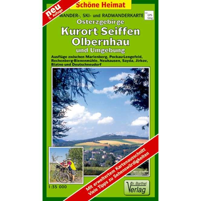 Verlag Dr. Barthel Osterzgebirge, Kurort Seiffen, Olbernhau und Umgebung