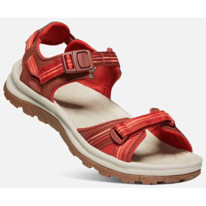 Keen Women's Terradora II Open Toe Sandal - dark red/coral | US 8,0