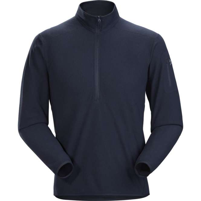 Arc'teryx Delta LT Zip Neck Men - kingfisher | S