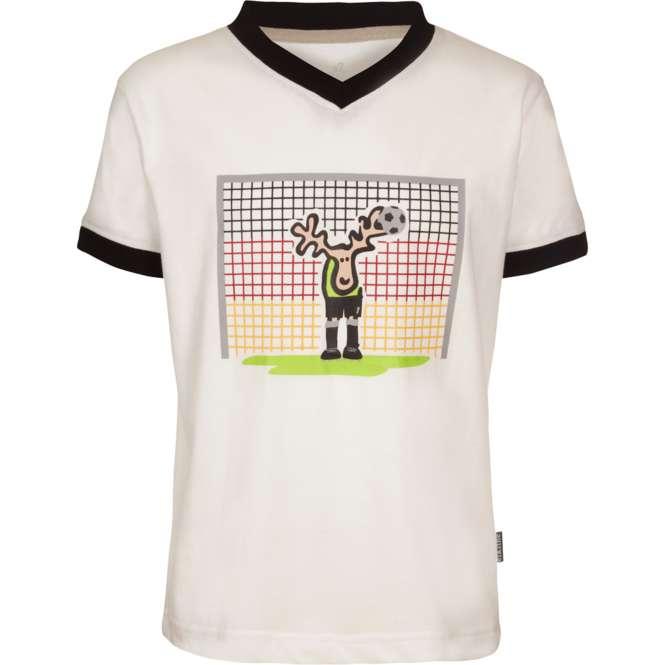 Elkline Im Tor Kids Shirt - white | 104/110