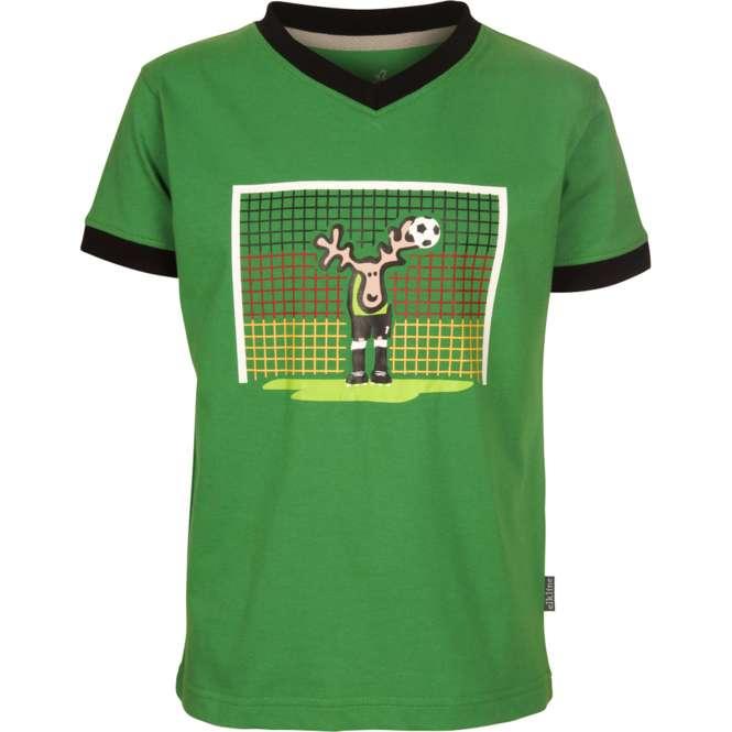 Elkline Im Tor Kids Shirt - grass | 104/110