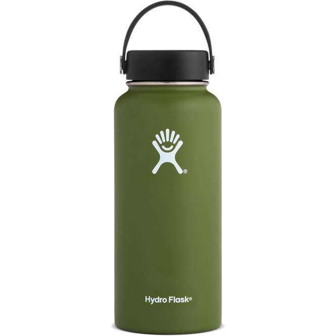 Hydro Flask 32 oz Wide Mouth Isolierflasche - olive