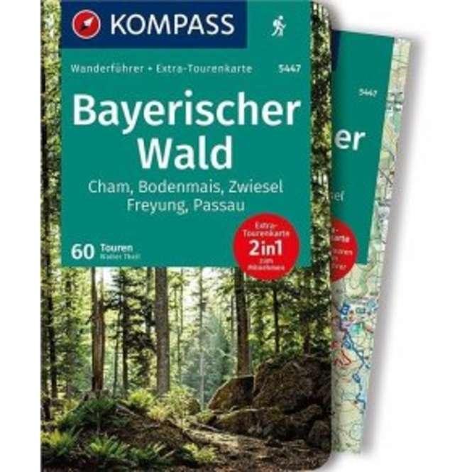 Kompass-Verlag WF Bayerischer Wald m. Karte