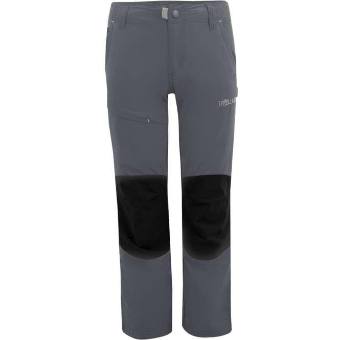 Trollkids dark grey | 116 - Kids Hammerfest Pants