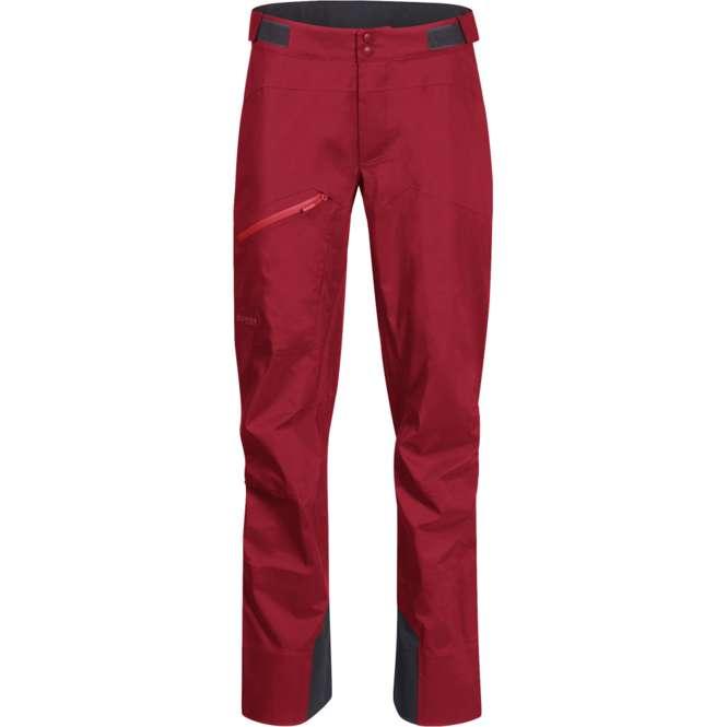 Bergans Cecilie 3L Pants Women - dahlia red/light dahlia red | M