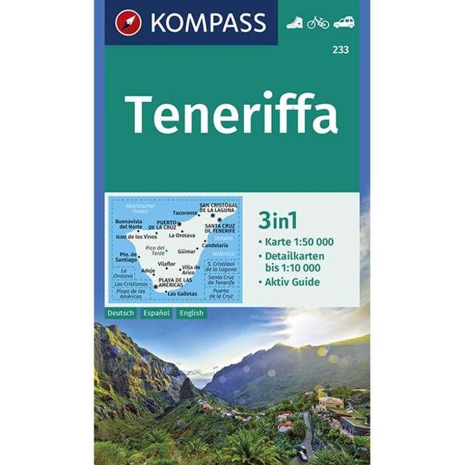 Kompass-Verlag Wanderkarte Teneriffa