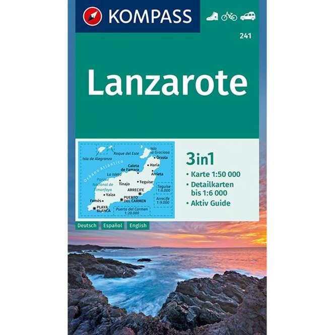 Kompass-Verlag Wanderkarte Lanzarote