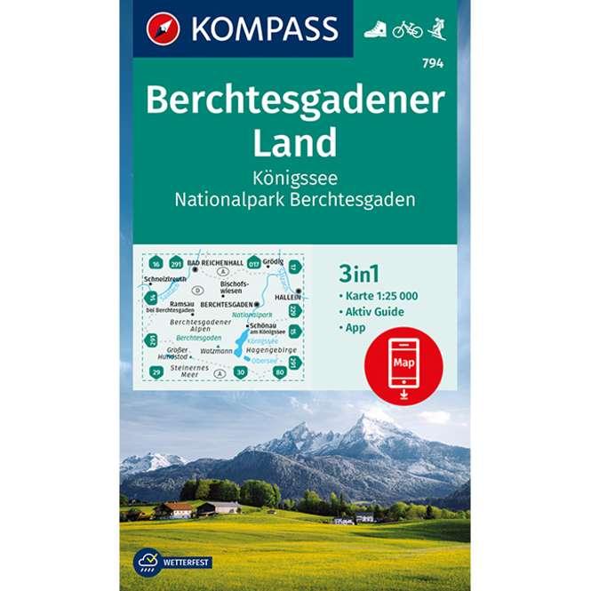Kompass-Verlag WK Berchtesgadener Land,Königssee,Nation