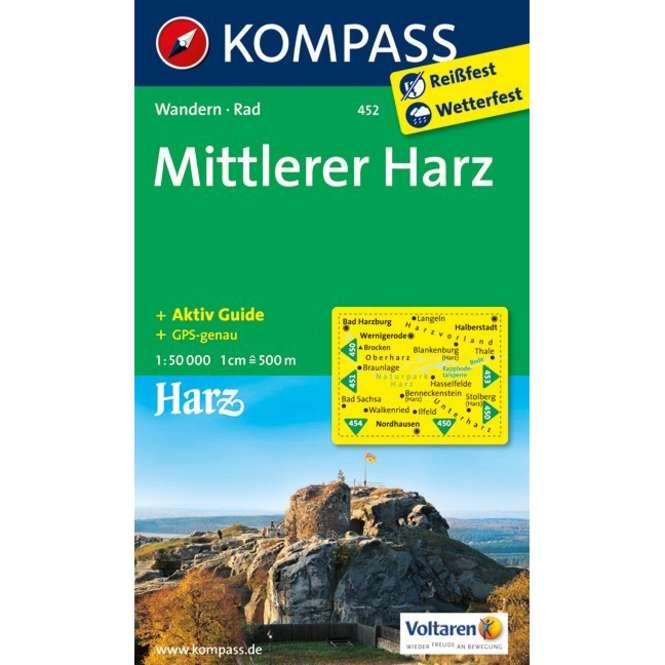 Kompass-Verlag WK Mittlerer Harz