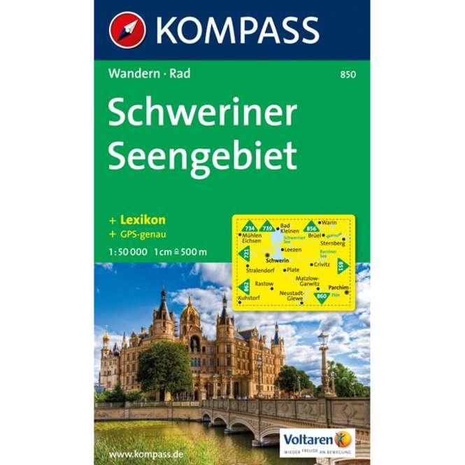 Kompass-Verlag WK Schweriner Seengebiet