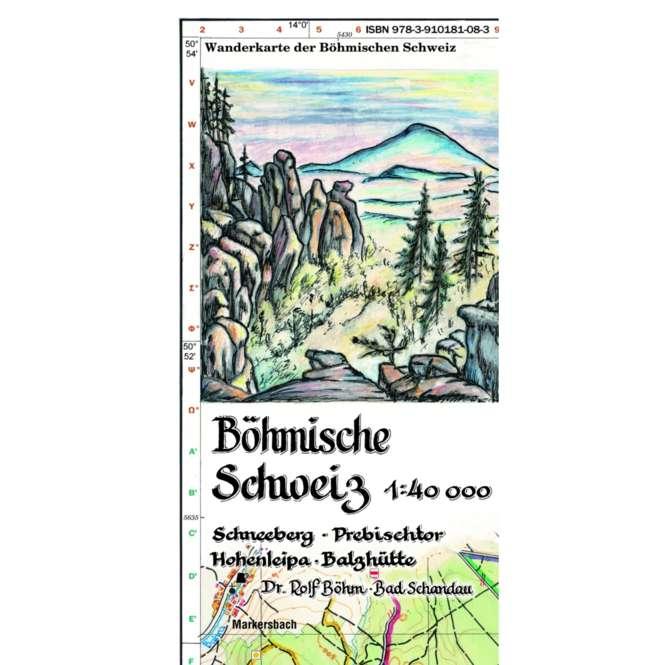 Rolf Böhm Böhmische Schweiz 1:40.000