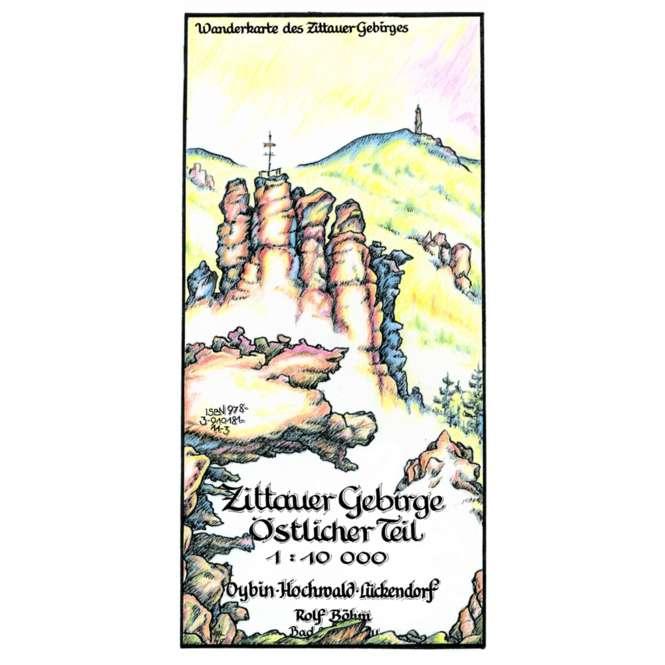 Rolf Böhm Zittauer Gebirge Östlicher Teil