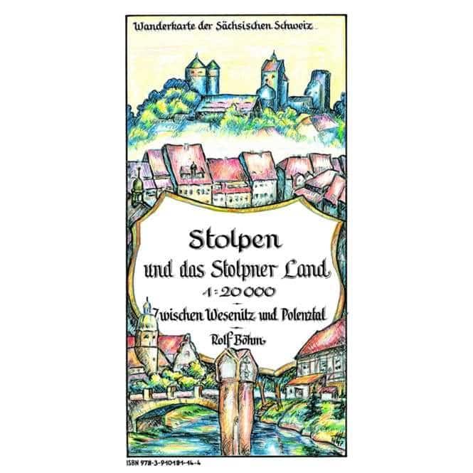 Rolf Böhm Stolpen und das Stolpener Land 1:20.000