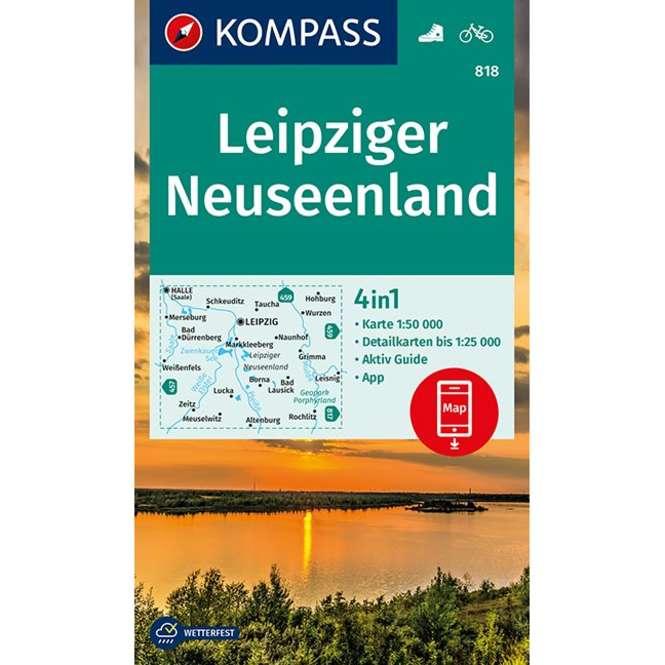 Kompass-Verlag WK Leipziger Neuseenland