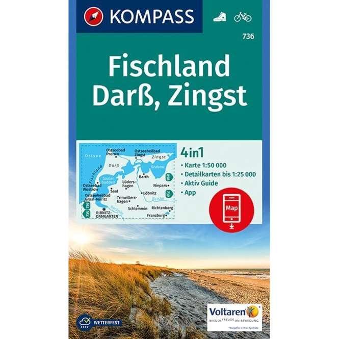 Kompass-Verlag WK Fischland,Darß,Zingst