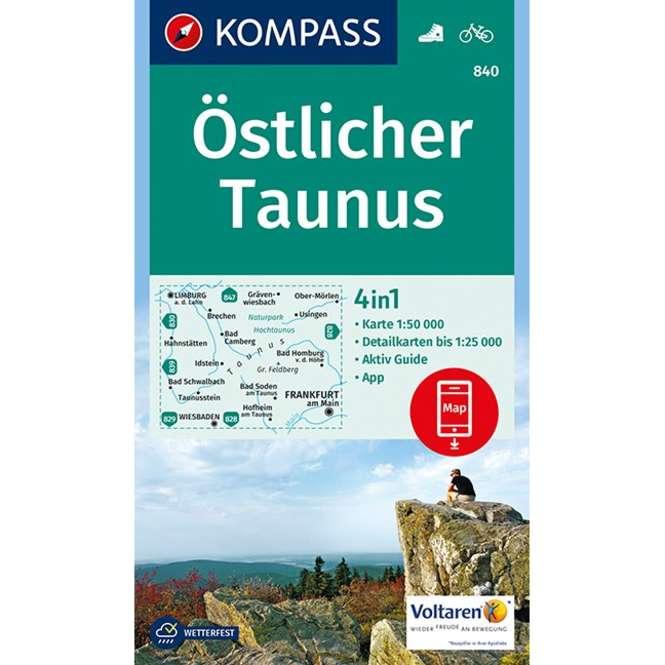 Kompass-Verlag WK Östlicher Taunus