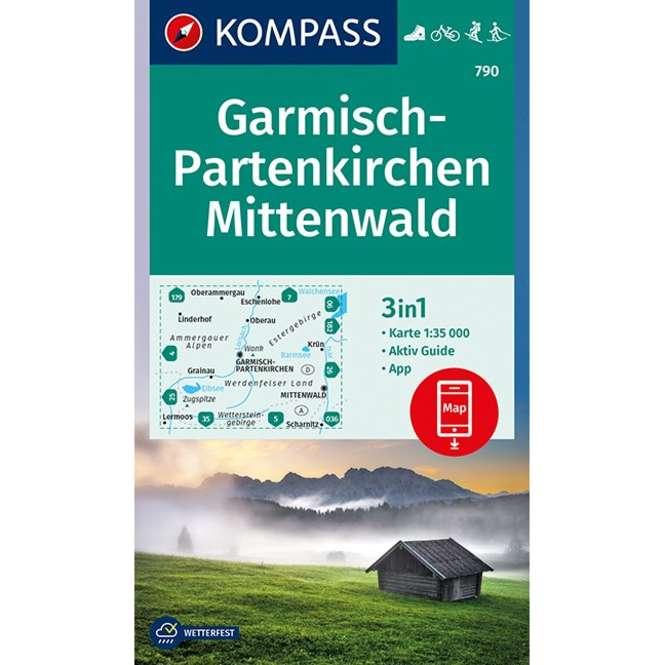Kompass-Verlag WK Garmisch-Partenkirchen,Mittenwald