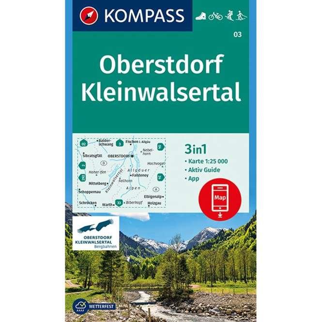 Kompass-Verlag WK Oberstdorf,Kleinwalsertal