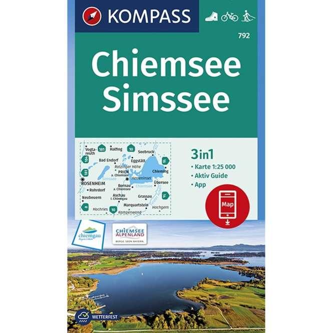 Kompass-Verlag WK Chiemsee,Simssee