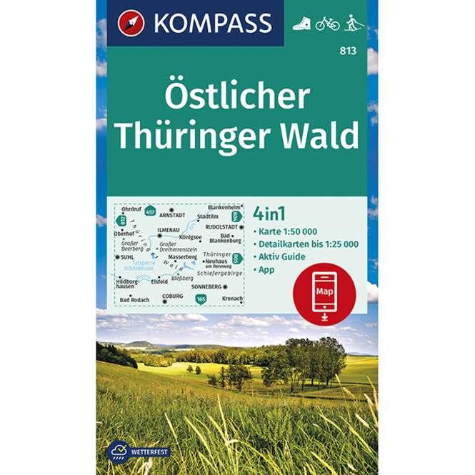 Kompass-Verlag WK Östlicher Thüringer Wald