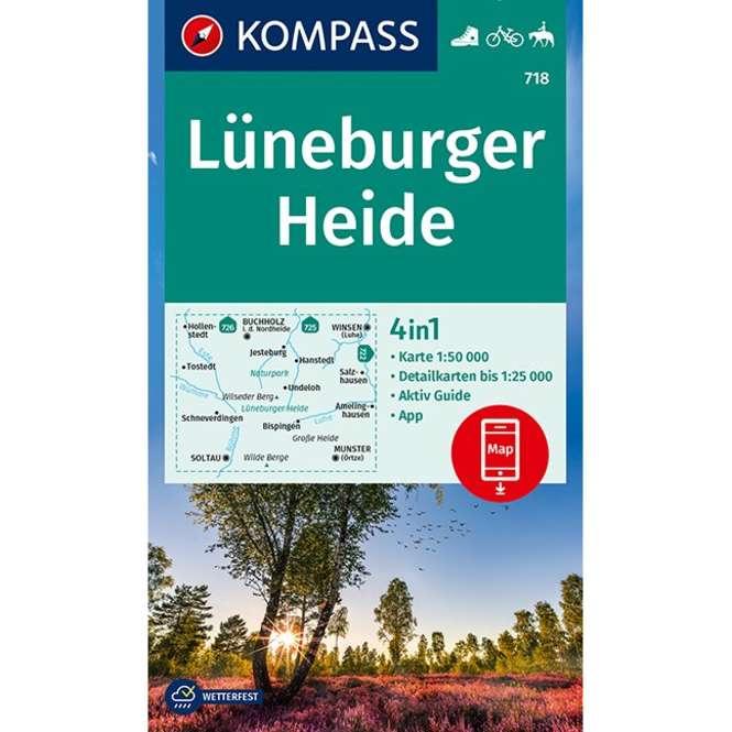 Kompass-Verlag WK Lüneburger Heide