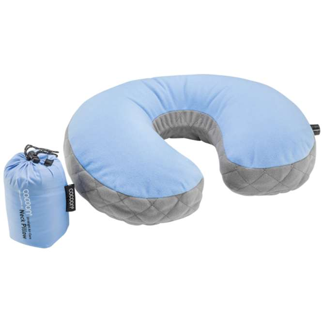 Cocoon Air Core Pillow UL Nackenkissen - blau