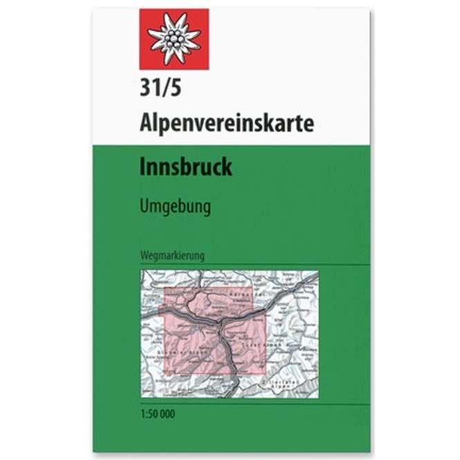 DAV AV-Karte 31/5 WEG - Innsbruck Umgebung