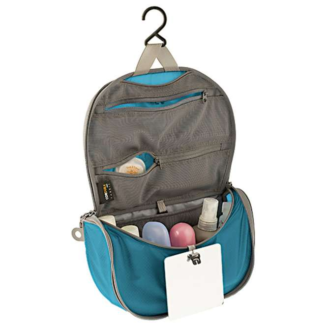 Sea to Summit Hanging Toiletry Bag - blue/grey | S