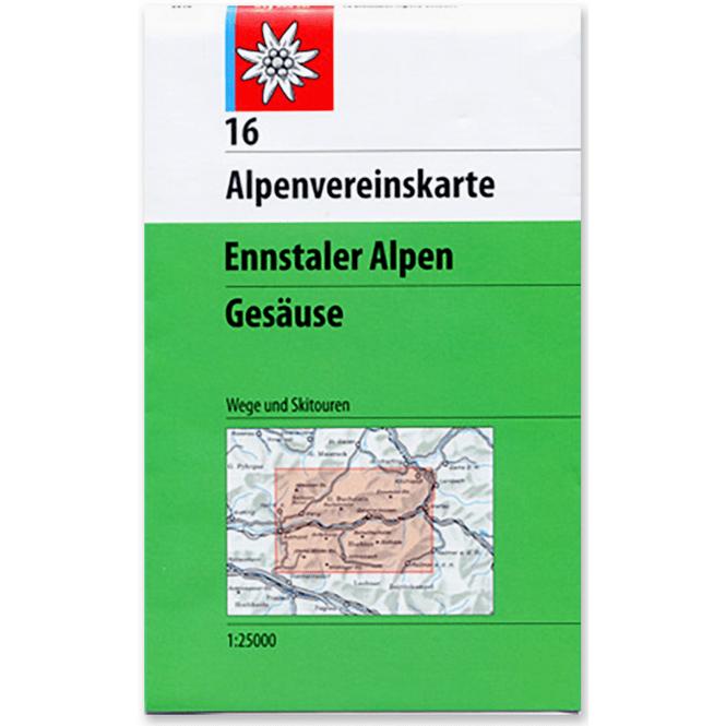 DAV AV-Karte 16 - Ennstaler Alpen-Gesäuse