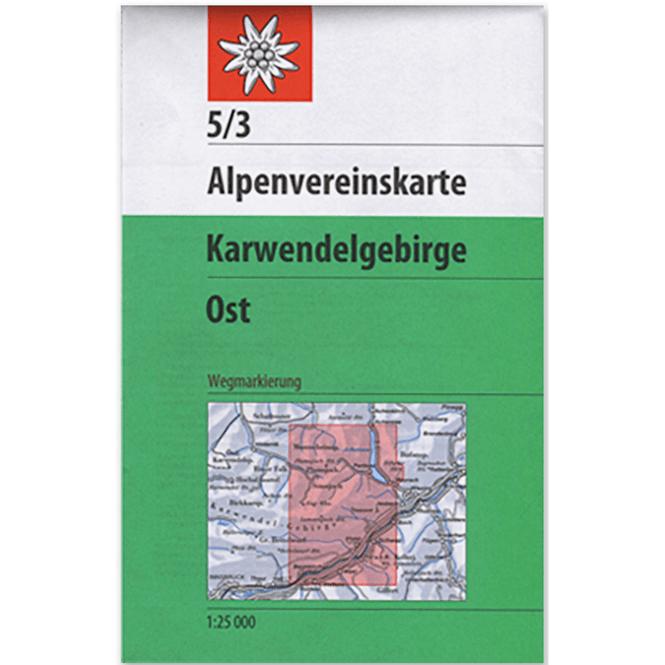 DAV AV-Karte 5/3 Karwendelgebirge, Ost