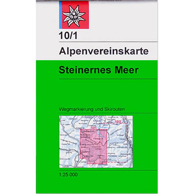 DAV AV-Karte 10/1 - Steinernes Meer