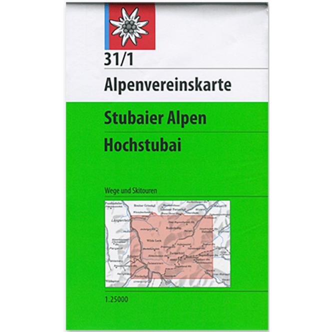 DAV AV-Karte 31/1 - Stubaier Alpen, Hochstubai